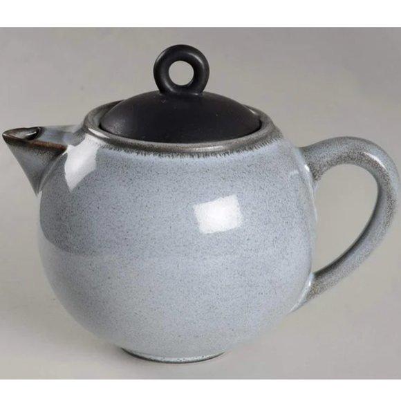 French ceramic Jars Tourron gris ecorce teapot